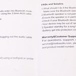Riodo 防水 Bluetooth スピーカー 開封レビュー (9)