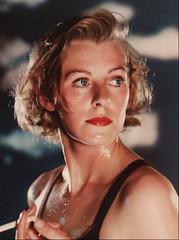 Vivex Colour - 1938 - Margaret Sullavan by Gordon Crocker