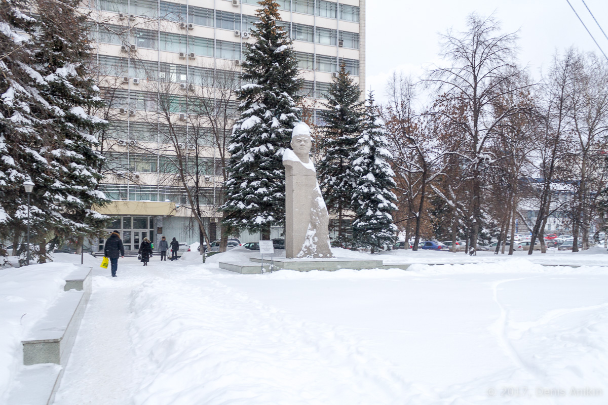 Центр Уфы зимой фото IMG_1080