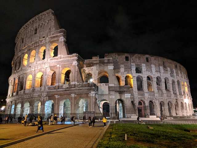 Colosseum @ night