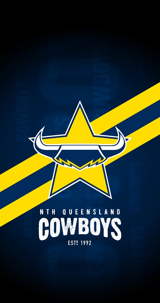 North Queensland Cowboys iPhone 6/7/8 Lock Screen Wallpaper