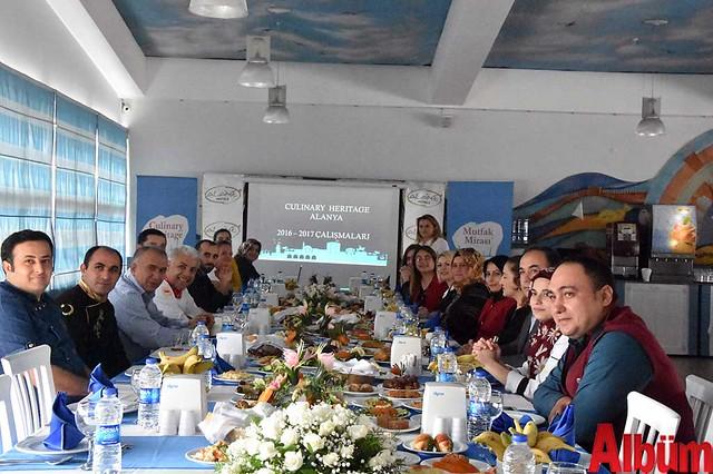 Alaiye Resort'te toplandılar - Mutfak Mirası Toplantı -3