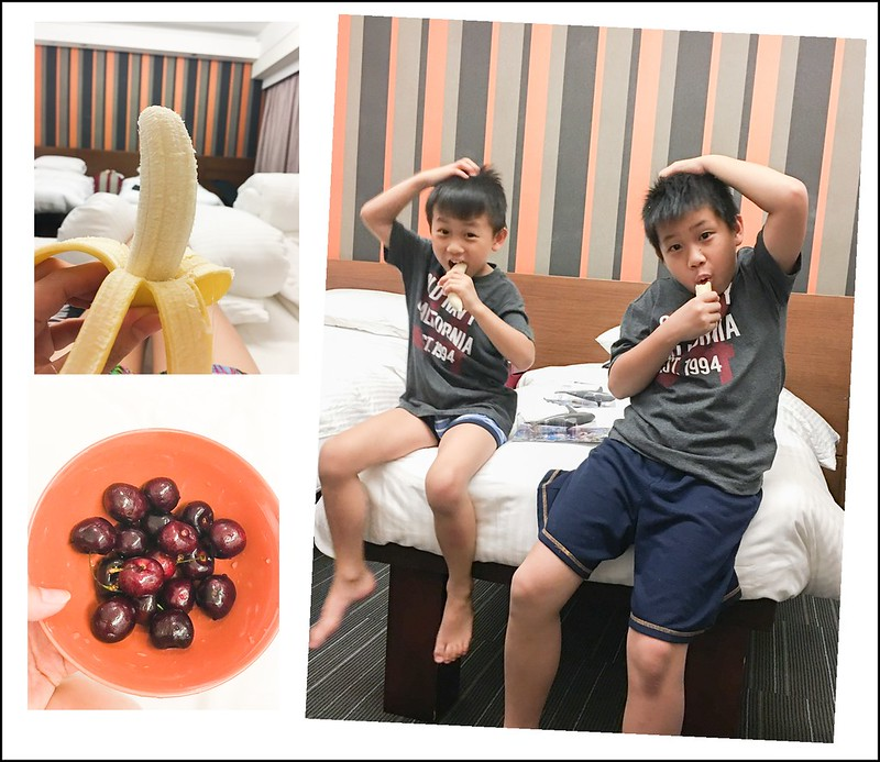 飯店吃水果