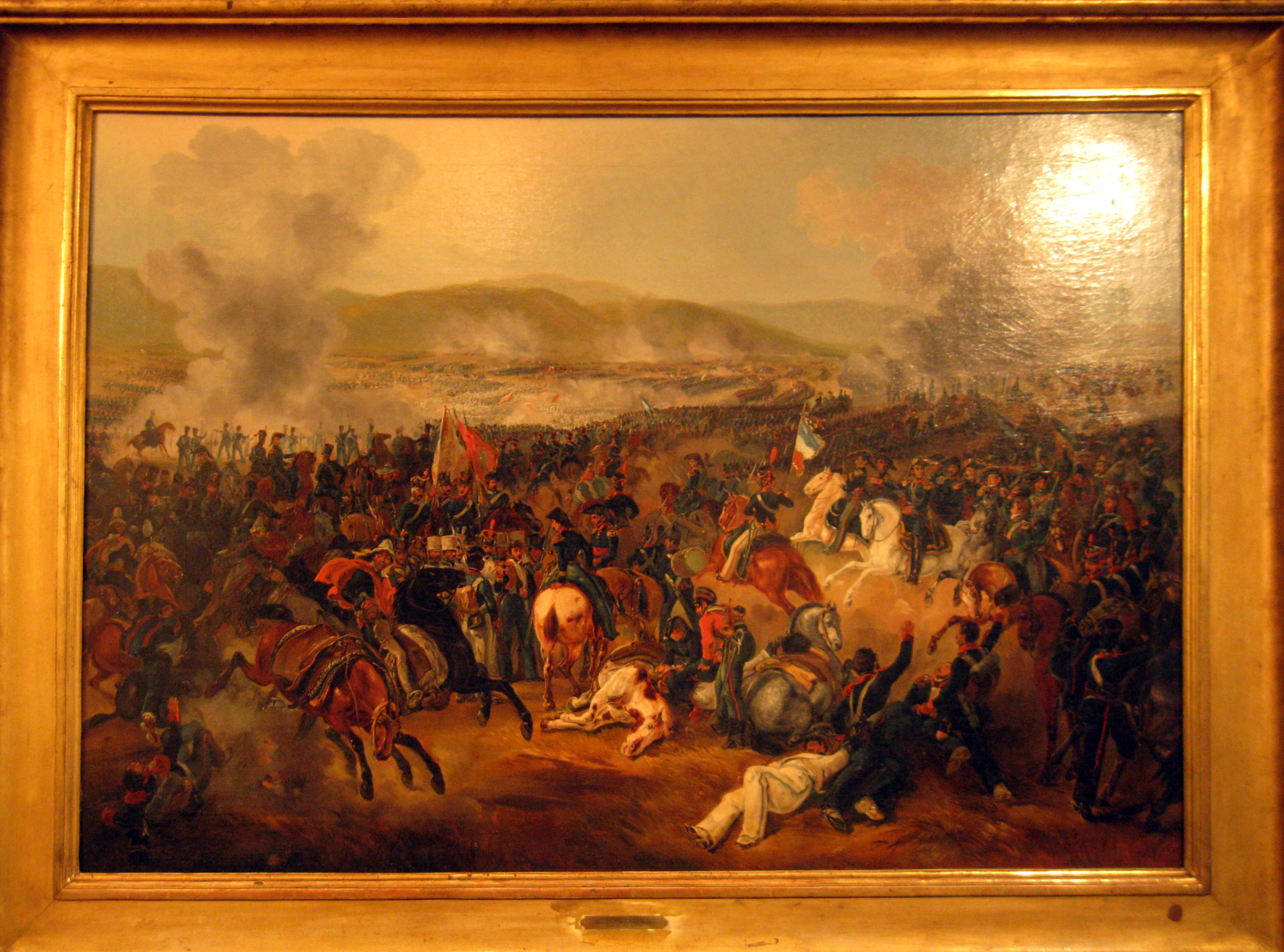 Battle of Maipú, painted by Johann Moritz Rugendas in 1837.