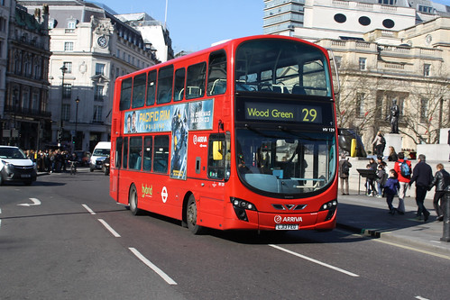 Arriva London HV129 LJ13FEO