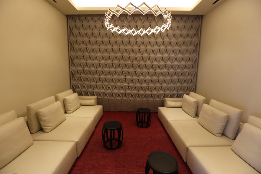 Qatar lounge at Paris CDG 71