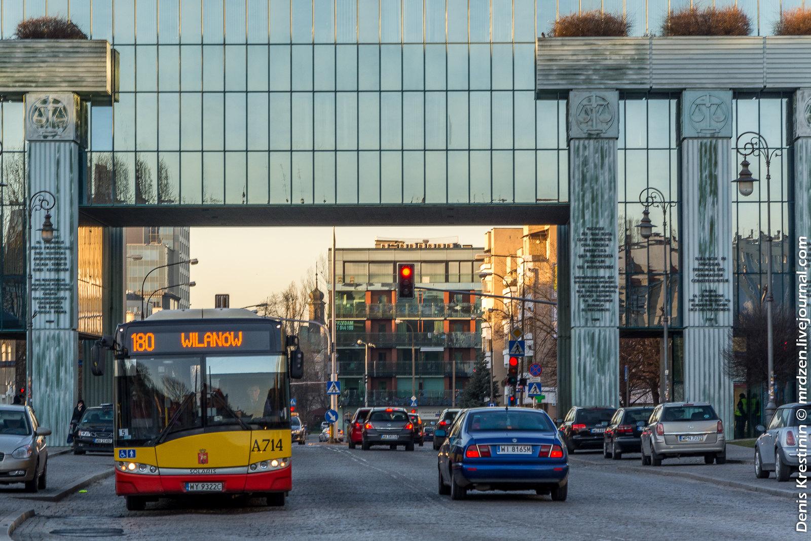Варшава. Площадь Красиньских.