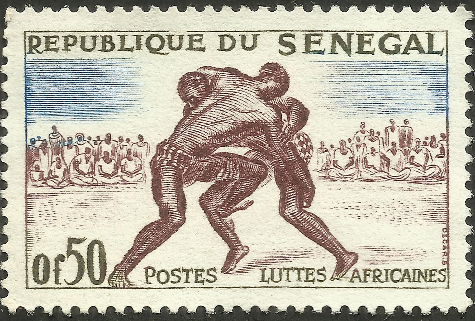 Republic of Senegal - Scott #202 (1961)
