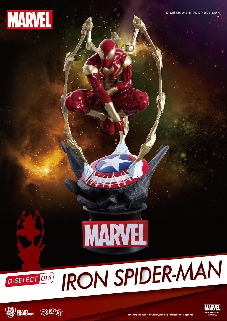 BEAST KINGDOM D-Select-015 Iron Spider Man Statue