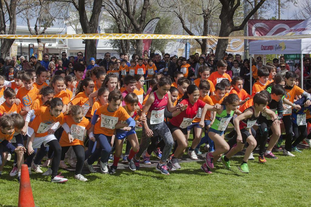 VII Carrera popular, escolar y solidaria Santa Clara  categoría Alevín sub 12