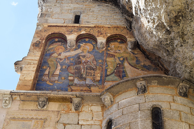 Preserved Paintings at Rocamadour, France #unesco #rocamadour #france #travel #travelguide