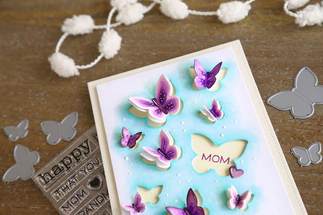 butterflies for mom (Lawn Fawn inspiration week)