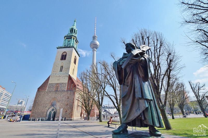 Berlin TV Tower - 2 or 3 days in Berlin Itinerary