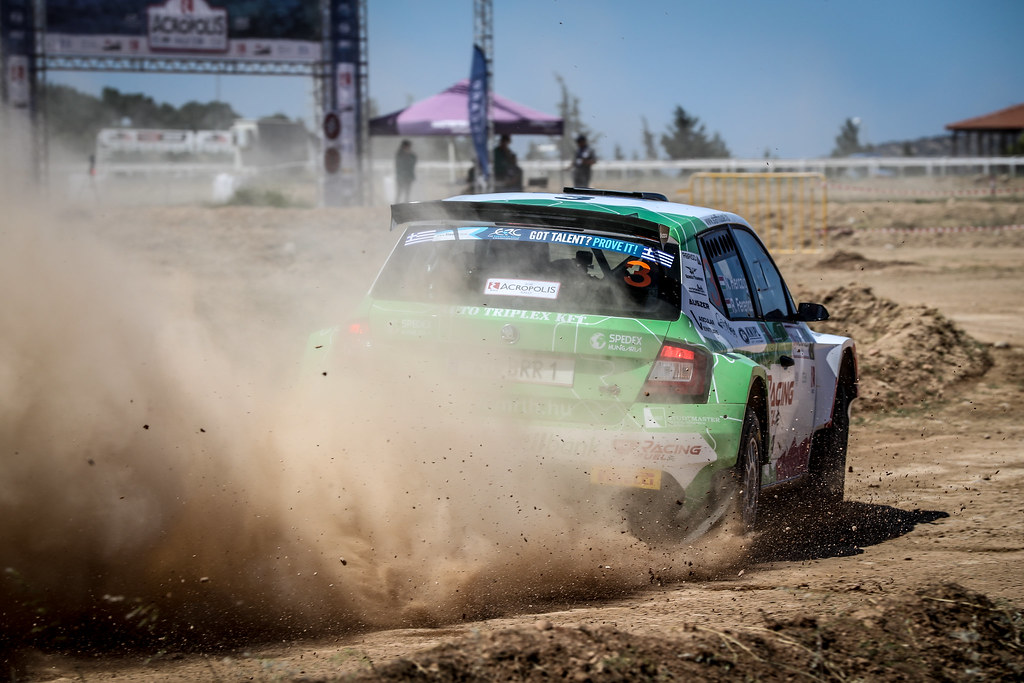 03 HERCZIG Norbert (hun), FERENCZ Ramon (hun), SKODA FABIA R5, action during the European Rally Championship 2018 - Acropolis Rally Of Grece, June 1 to 3 at Lamia - Photo Alexandre Guillaumot / DPPI