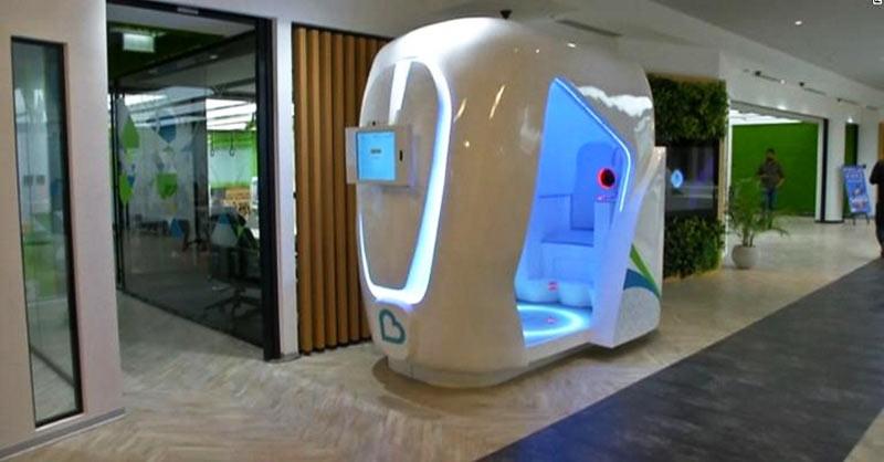 Mesin cek kesehatan Bodyo di Dubai