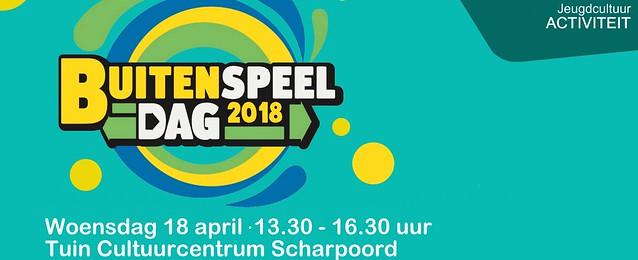 Buitenspeeldag 2018 (CC Tuinen Scharpoord, Knokke-Heist) 18/04/2018
