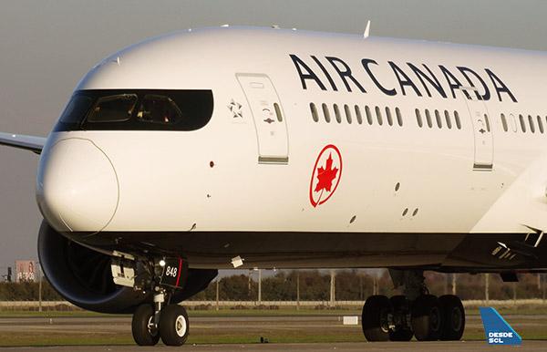 Air Canada B787-9 N848AC (RD)