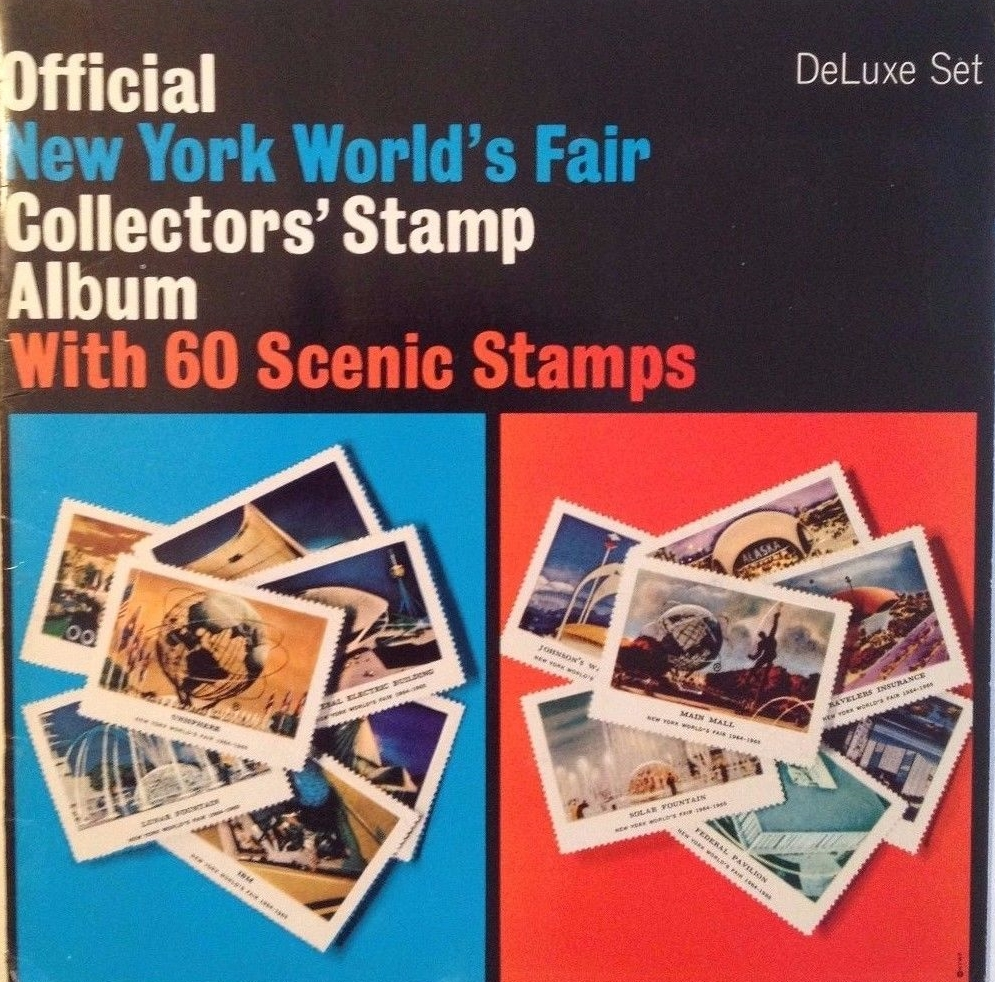 1964-1965 New York World's Fair Official Collector's Stamp Album