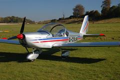 G-CBJR Evektor EV-97A (2001-1139) Popham 121008