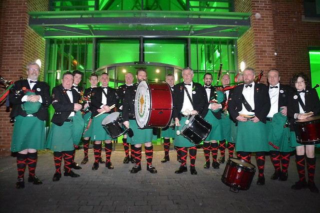 The Fianna Phadraig Pipe Band