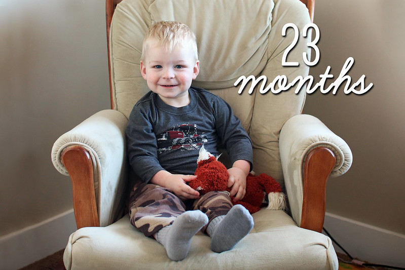 Jonathan is 23 Months