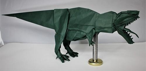 Origami Giganotosaurus 4