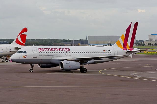 D-AGWJ | Airbus A319-132 | Germanwings