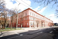 Two Views of the One Time Szeged Piarist Secondary School and Convent Nr1