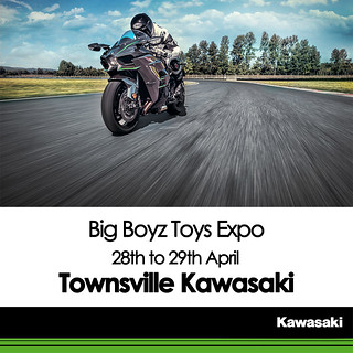KAWASAKI DEALER EVENT – Townsville Big Boys Toys Expo 2018 – Townsville Kawasaki – 28th to 29th April