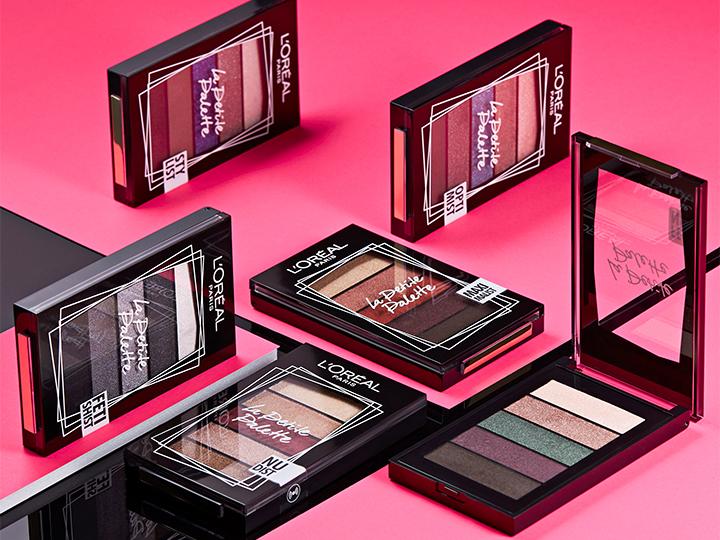 La Petite Palette van L'Oréal: 6 minipalettes & 30 kleuren!