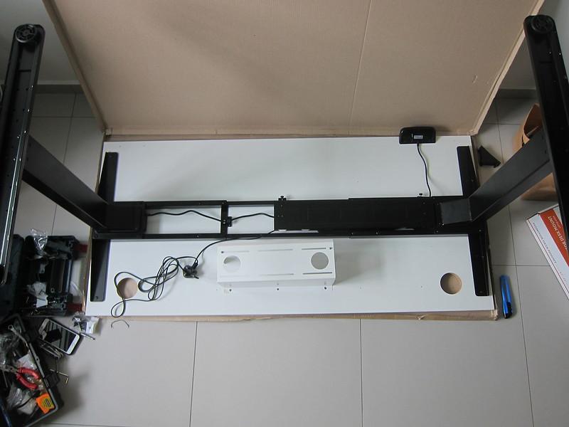 ErgoEdge AmpDesk Standing Desk - Installation