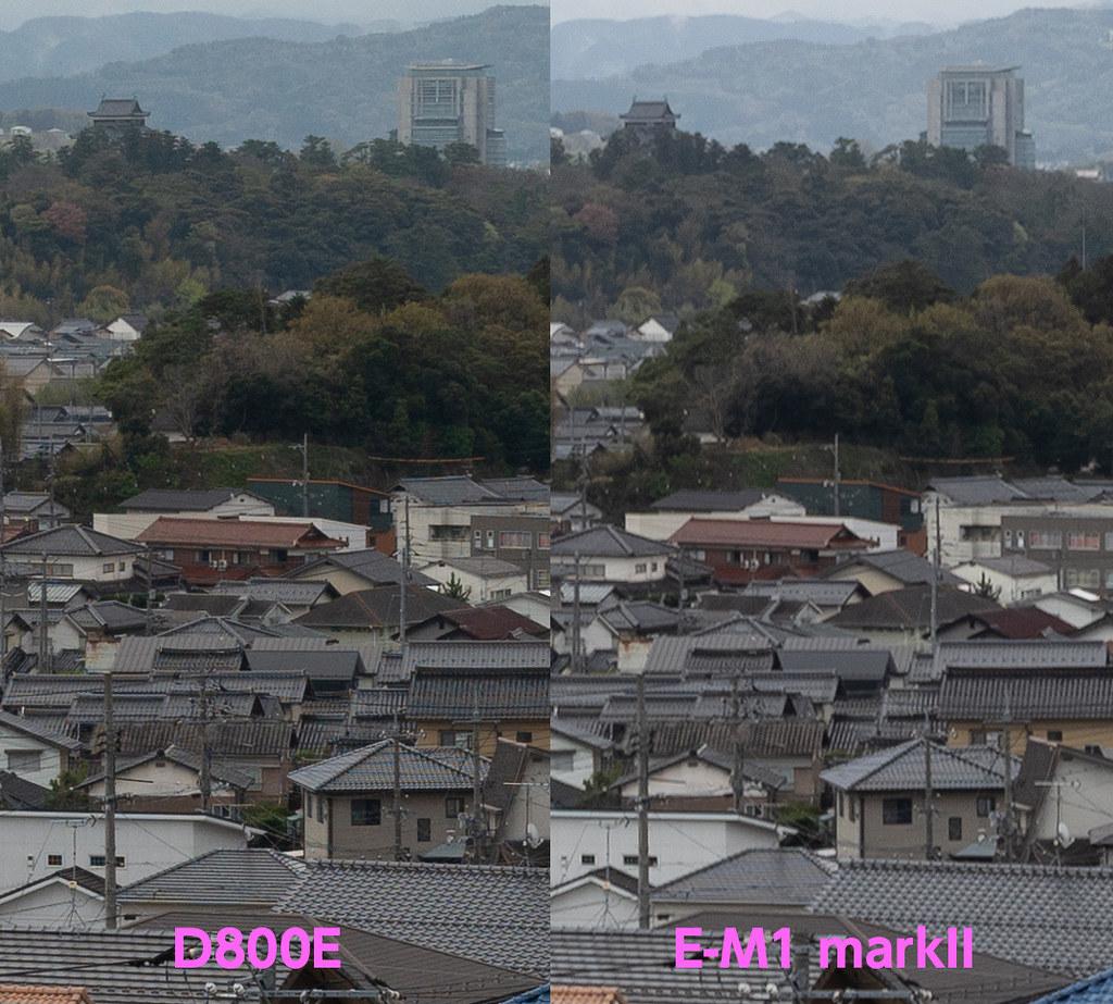 比較_松江城