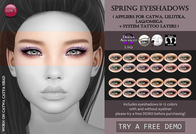 Spring Eyeshadows for Lookbook