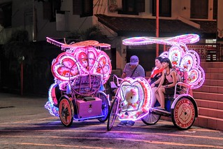 Hello Kitty Trishaw ride-Malacca