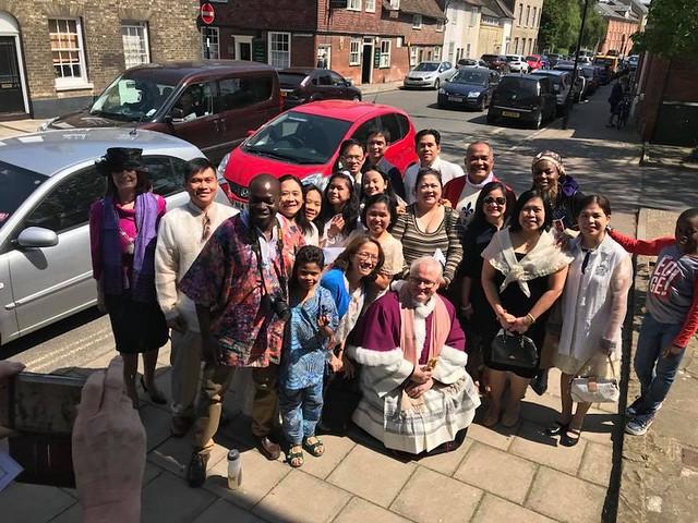 Pentecost International Celebration, St Edmunds, May 2018