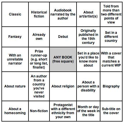 2018 Book Bingo
