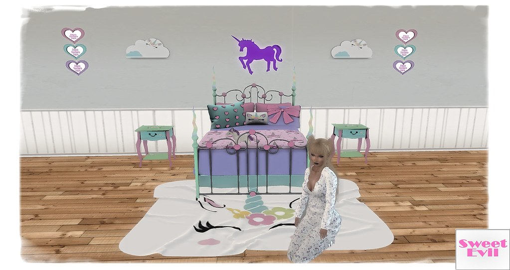Sweet Evil Gacha Life April This Unicorn Bedroom Gacha