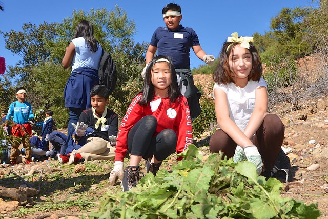 Kids In Canyons with Ocean Discovery Institute