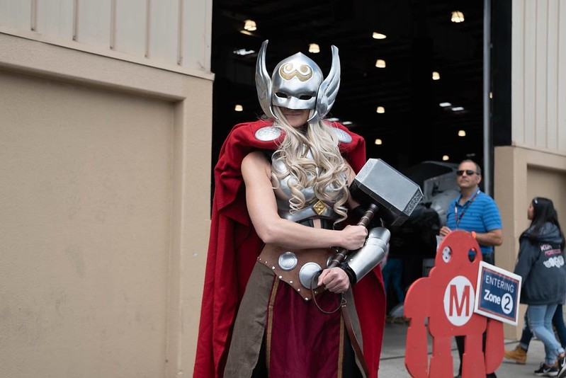 Thor at the Maker Faire