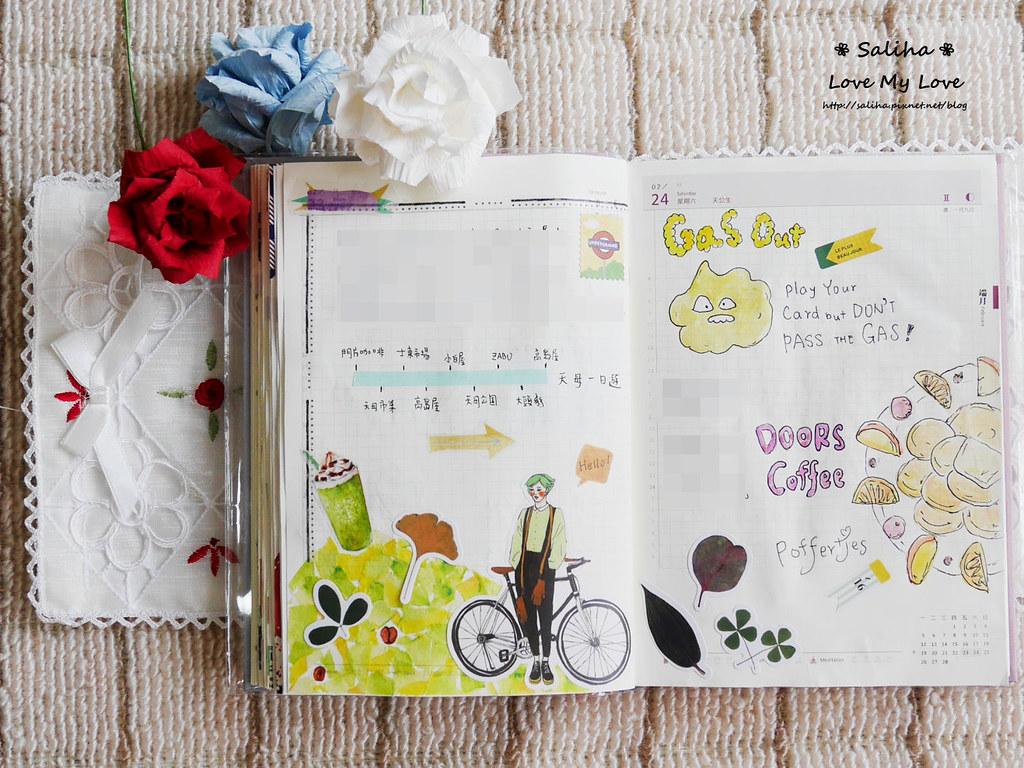 開花實驗室手帳設計裝飾紙膠帶 (12)