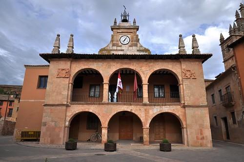 Ayllón (Segovia-España). Plaza Mayor. Ayuntamiento