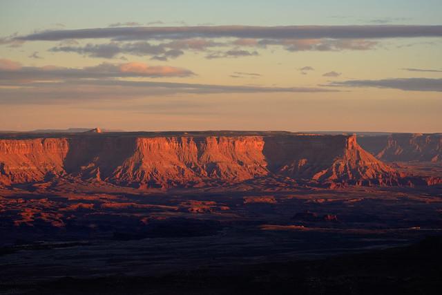 Buck Canyon Overlook. Canyonlands, Fujifilm X-T20, XF55-200mmF3.5-4.8 R LM OIS
