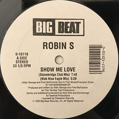 ROBIN S:SHOW ME LOVE(LABEL SIDE-A)