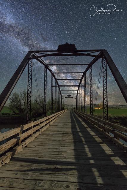 Owyhee River Milky Way