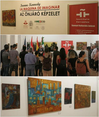 Desde Oaxaca se presenta la Exposición La Máquina de Imaginar en Hungría