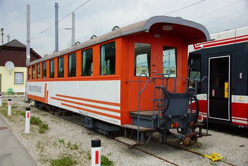 20 225 ex VBW Vereinigte Bern-Worb Bahnen in Vorchdorf