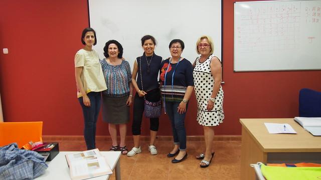 Clausura del taller de patronaje y costura en Benejúzar