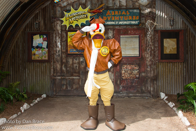 Meeting Launchpad McQuack