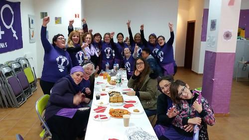 Círculo feminista de Podemos