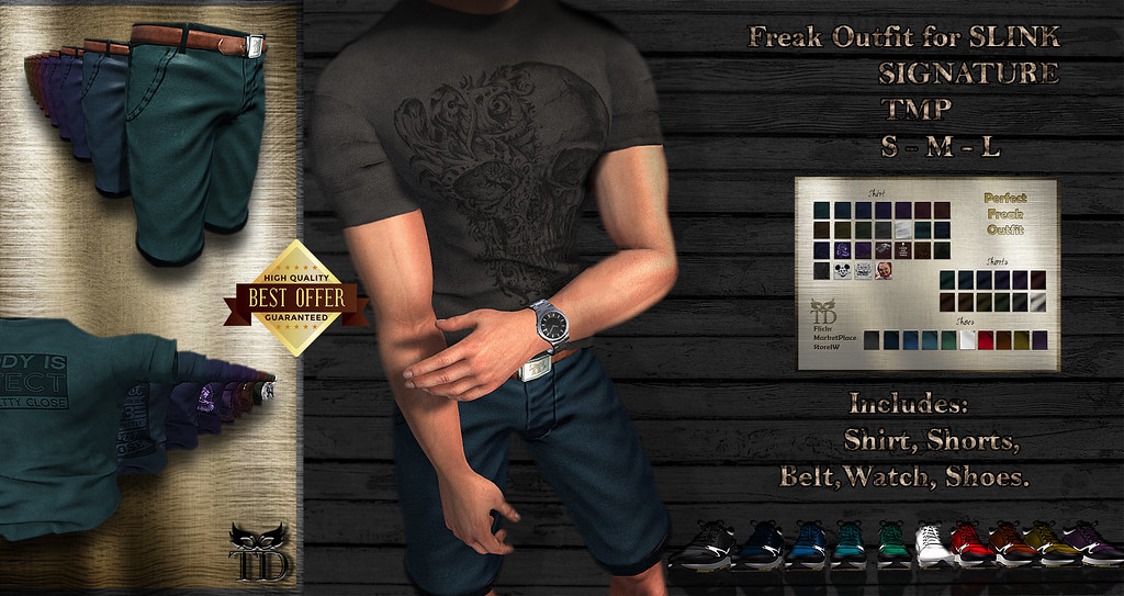 ^TD^Perfect Freak Outfit GIANNI SLINK TMP CLASSIC [FATPACK] - TeleportHub.com Live!